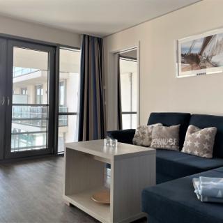 "Apartmenthaus Hafenspitze Ap. 11 - ""Seglerglück"" - Blickrichtung offene See - Eckernförde"