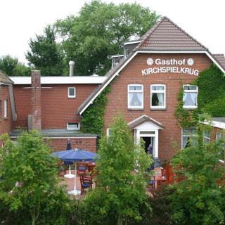 Landhotel & Gasthof Kirchspielkrug Westerhever - Doppelzimmer A (ohne Balkon) - Landhotel & Gasthof Kirchspielkrug Westerhever - Doppelzimmer A (ohne Balkon)
