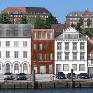 """Hotel Hafen Flensburg - Hotel Hafen FL - Doppelzimmer """"Bark"""" - Hotel Hafen Flensburg - Hotel Hafen FL - Doppelzimmer """"Bark"""""""
