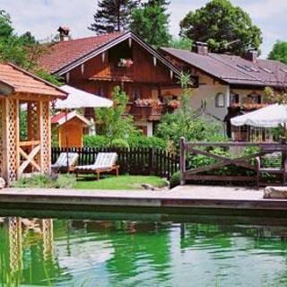 Landhaus Benediktenhof in Arzbach - Himmelbettzimmer klein - Landhaus Benediktenhof in Arzbach - Himmelbettzimmer klein