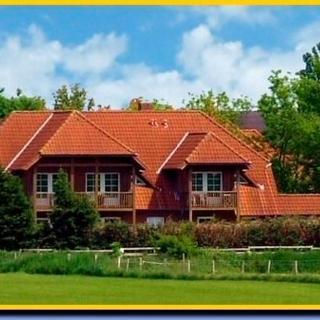 """""""Ferienhof Rießen""""  Rotes Haus Nr. 44 - Presen"""