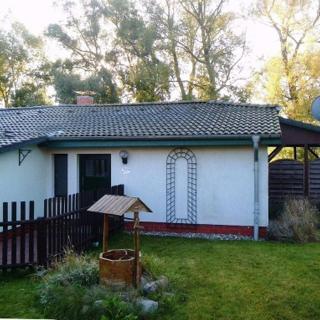 Landhaus am Teich - Saaler Bodden - Ferienhaus türkis - Saal