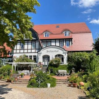 romantische Ferienwohnung Sachsenhof 1 - Klingberg