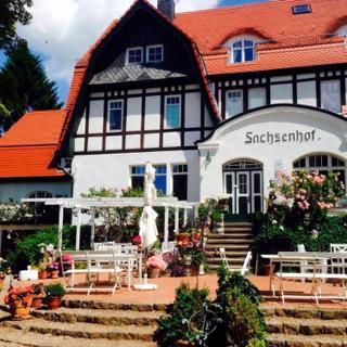 romantische Ferienwohnung Sachsenhof 6 - Klingberg