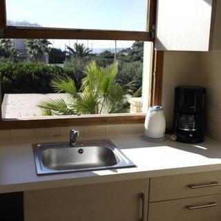 6 Personen Apartment für Familien mit Balkon, Pool, WLAN, Küche, 230m Meer, - Cala Figuera