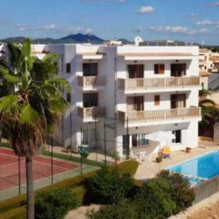 6P Family Apartment, Balkon, Pool, WLAN, Küche, 220m zum Meer - Cala Figuera