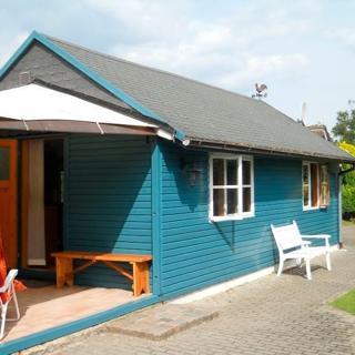 """Werner, Nicole: Ferienhaus """"Das blaue Haus"""" - Kalifornien"""