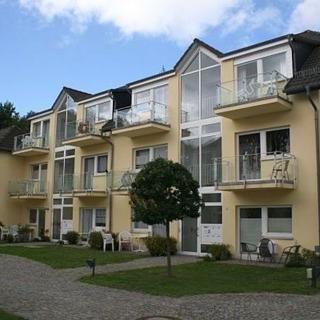 H: Appartementanlage Eldena Whg. 12 - ca. 100m zum Strand - Ferienwohnung Eldena Nr. 12 mit 2 Balkone - Lobbe
