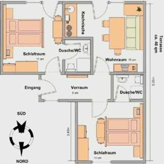 Haus Enzian - Ferienwohnung B - Lermoos