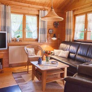 Ferienpark Lauterdörfle - TYP C - Ferienhaus bis 4 Personen, ca. 70qm ohne Haustier - Hayingen