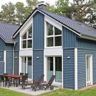 Strandhus Baabe -F647 | Haus 3 mit Kamin, Sauna, Terrasse - Strandhus Baabe Haus 3 - Baabe