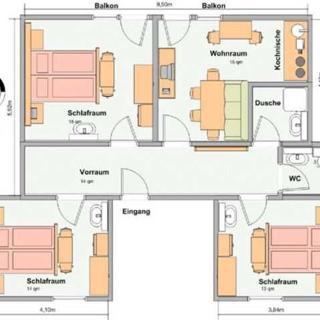 Haus Enzian - Ferienwohnung C - Lermoos