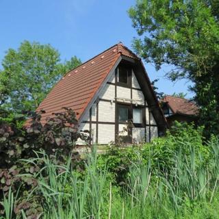 Ferienhaus Lederstrumpf im Feriendorf Altes Land - Ferienhaus Lederstrumpf 6 Personen - Haustiere erlaubt - Hollern-Twielenfleth