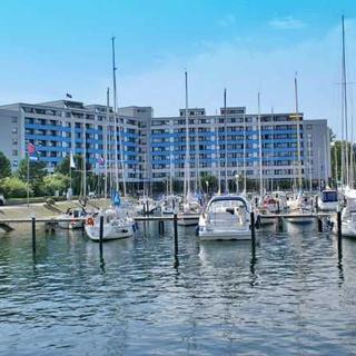 Ferienwohnung - herrliche Nachmittags- und Abendsonne - wenige Meter bis zum Strand und Hafenpromenade - Damp