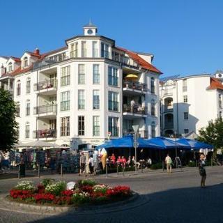 "Appartementhaus ""Atlantik"" - (169/2) 3- Raum- Appartement-Südbalkon - Kühlungsborn"