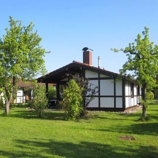 Ferienhaus Robinson im Feriendorf Altes Land - Ferienhaus Robinson - für 6 Personen - mit Haustier - Hollern-Twielenfleth