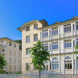Villa Strandeck (Strandpromenade Binz) - VSE08 - FeWo direkt am Strand, Meerblick, Strandkorb, WLan - Binz