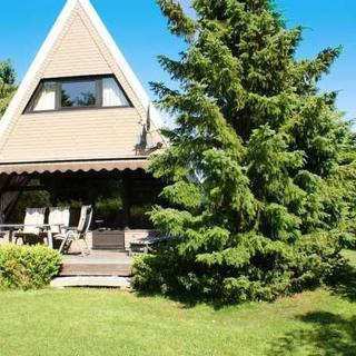 grosse sonnige Terrasse mit Markise und W-LAN kostenlos - Zeltdachhaus mit W-LAN in ruhiger Lage - Damp