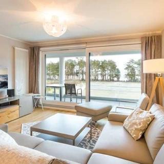 Appartement Strandidylle NP1 inklusive Sauna in Prora - App. NP1 Strandidylle Prora 82m² 4 Erw. + 1 Kleink. - Prora