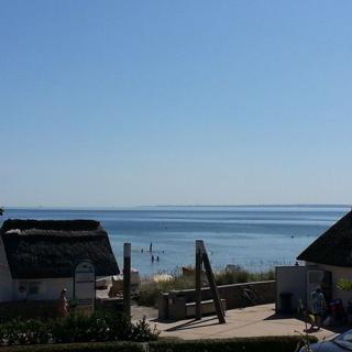 Strandhaus Buchtmitte - Ferienwohnung Strandläufer - Haffkrug