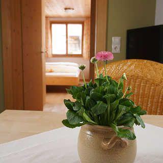 Gästehaus Helga Bär - Bio-Ferienwohnung I - Au