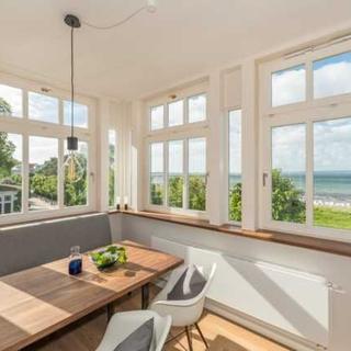 """Villa Strandeck, App. Meeresleuchten - direkt am Meer - """"Meeresleuchten"""" - Binz"""