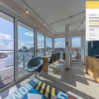 Panorama Suite in der Hafenresidenz 4**** - Waren (Müritz)