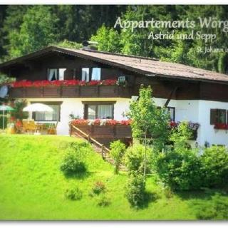 Appartements Wörgötter Astrid & Sepp - Appartement Top III / 2 Schlafz. - St. Johann in Tirol