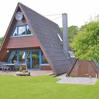 Urlaub für die ganze Familie - Zeltdachhaus - Parkplatz vor der Haustür - W-LAN - Damp