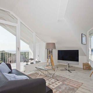 Ferienresidenz Zwei Bodden - ZB1-5 - moderne FeWo mit Balkon und 1 sep. Schlafzimmer - Lietzow