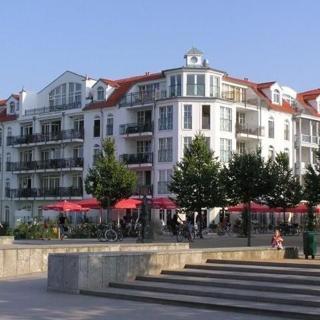 """Appartementhaus """"Atlantik"""" - (87) 2- Raum- Appartement -Balkon-Südlage - Kühlungsborn"""