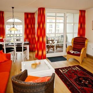 """Appartementhaus """"Atlantik"""" - (168/3) 2- Raum- Appartement - Westseite - Kühlungsborn"""