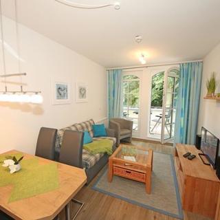 MZ: Haus Meeresblick A 3.19 Dünenwind /A 3.15 Steuerbord - Haus Meeresblick A 3.15 Steuerbord mit Balkon - Baabe