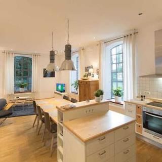 Große Luxus-Ferienwohnung im alten Lokschuppen in Stadtlohn - LokoMotel-Wohnung - Stadtlohn