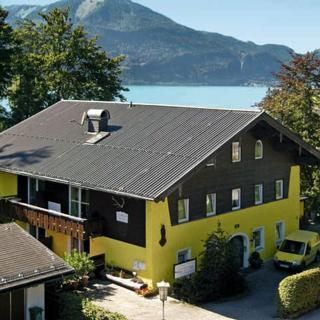 LANDHAUS GERUM - Wohnung VORMAUER - günstige Wohnung mit Bergblick - Langzeit-Ferienwohnung - St. Wolfgang im Salzkammergut