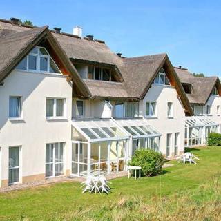 Strandhaus Mönchgut - SHM09 - strandnahe Ferienwohnung, Terrasse, gartis WLan - Lobbe