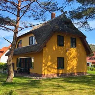 Glowe - Reetdach-Ferienhaus Dünenresidenz - RZV - Reet-Ferienhaus - 4 Zimmer - Glowe