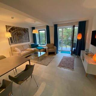 """Strandresidenz-Appartement """"Flussuferläufer"""" G35 in Prora - Appartement """"G35"""" 78m² bis zu 6 Personen - Prora"""