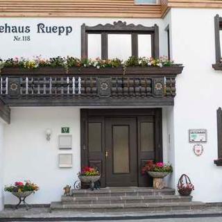 Haus Ruepp - Doppelzimmer mit Du/WC und Balkon und Frühstück - Tannheim