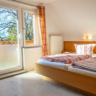 Pension in Prerow - Doppelzimmer 2.Etg + Balkon - Prerow