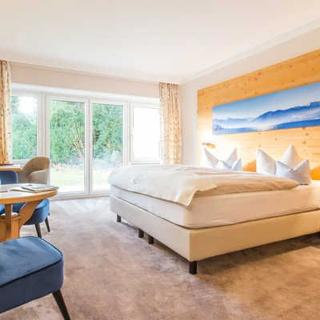 Hotel garni Berlin - Dreibettzimmer - Rottach-Egern