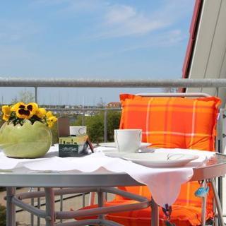 Ferienwohnungen am Salzhaff - Luv - mit Balkon und Blick aufs Haff - Rerik