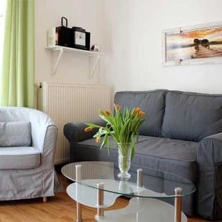 Appartements in Kühlungsborn-West - (215/2) 2- Raum- Appartement-Hermannstr. 14 - Kühlungsborn
