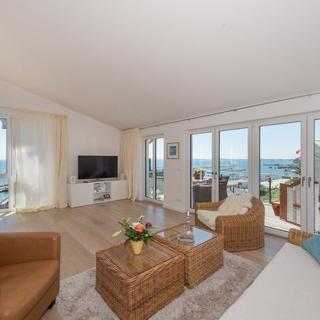 Bel Etage in der Villa Amelie am Meer - Luxus- Penthouse Bel Etage mit traumhaften Meerblick - Sassnitz