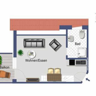 BUE - Ferienwohnungen INSELZEIT - AM62 Typ 5/6 - Büsum