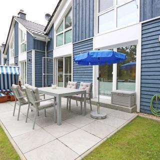 F: Ferienhaus Blaue Welle mit Terrasse - Ferienhaus Blaue Welle mit Terrasse - Baabe