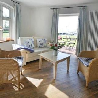 Pension mit Hafenblick - Doppelzimmer mit Terrasse - Born am Darß
