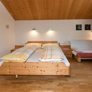 Gästehaus Margreth - Zimmer Klippern Dreibettzimmer - Au