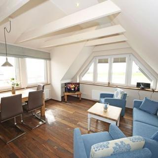 P: Zollhaus Klein Zicker - exklusive Wohnungen mit Meerblick - Ferienwohnung 06 Südlage mit Meerblick - Klein Zicker