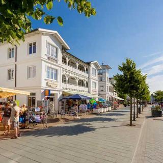 Villa Hildegard - Strandnähe- Balkon-im Zentrum von Binz - Appartement 2 - Binz
